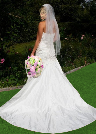Bridal gown by Judith Craig Couture